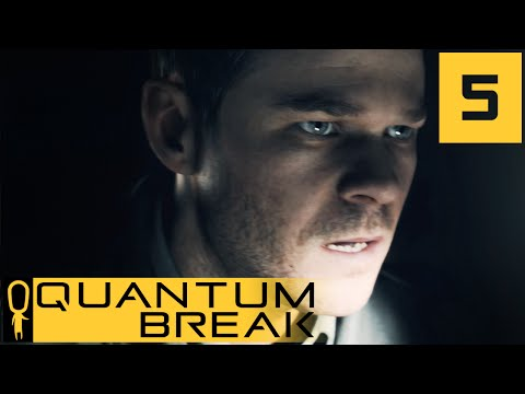 Quantum Break - Act 2 Scene 1 - Industrial Area - Let's Play - Quantum Break Walkthrough Part 5