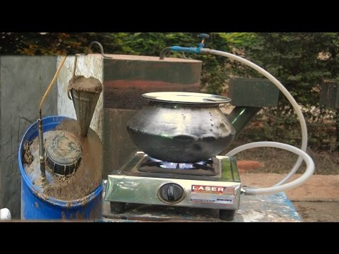 "How To Make Home Made Gobar gas plant By Rajiv Dixit""sDisciple."