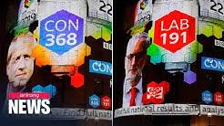 """Exit polls revealed after UK votes on """"Brexit Election"""""""