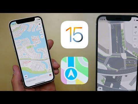 iOS 15: The Redesigned Apple Maps First Look & Changes