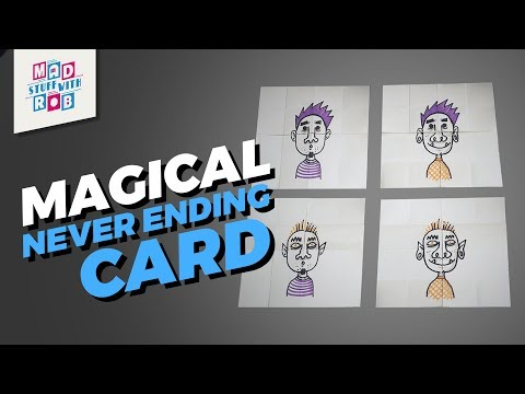 How to make a DIY Never Ending Card