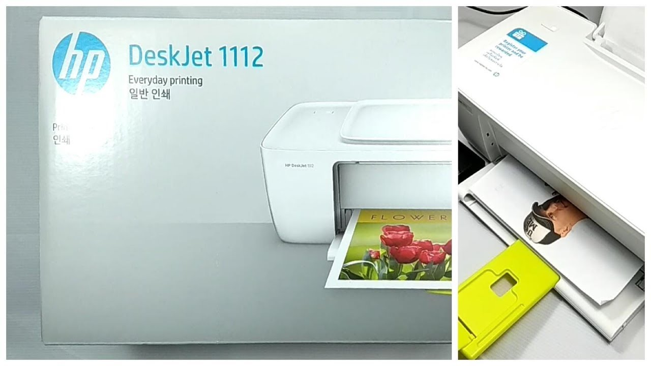 HP Deskjet 1112 Printer Unboxing, Review, Setup, and Testing