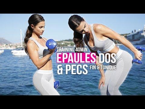 SEANCE FITNESS EPAULES, DOS & PECS (pour tonifier et muscler en finesse)