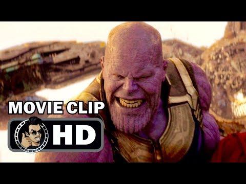 AVENGERS: INFINITY WAR Clip - Thanos Fight (2018) Marvel thumbnail