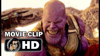 AVENGERS: INFINITY WAR Clip - Thanos Fight (2018) Marvel