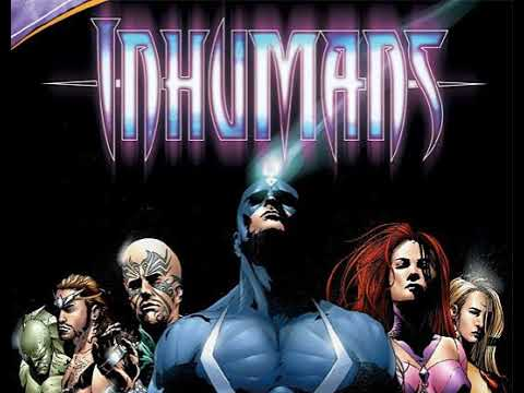 The History of the Inhumans Royal Family