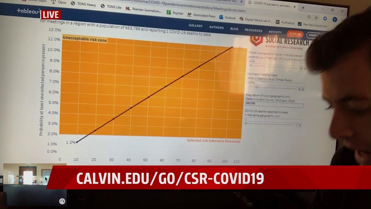 This Calculator Estimates Your Risk of Getting Covid-19