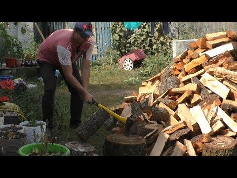 Волшебный эффект от колки дров!