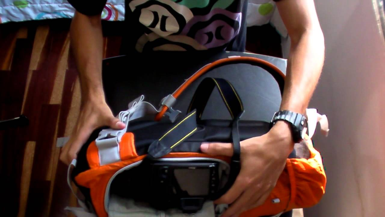 28dfcda2e7 Video Photo Sport Sling 100 AW - Lowepro - YouTube