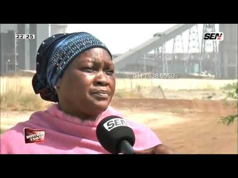 Les femmes de bargny souffrent à cause du centrale á charbon