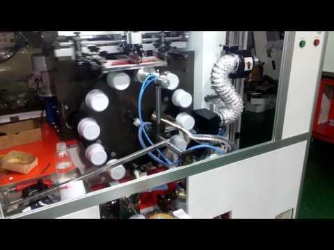 Bowl Jar Automatic UV Printing Machine