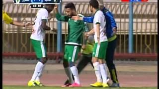 بالفيديو.. المصري يدرك التعادل أمام الداخلية برأسية 'ويلسون'