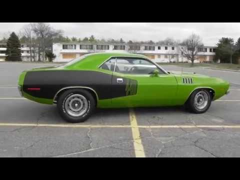 1971 Plymouth 'Cuda 440 6 Pack 5 Speed