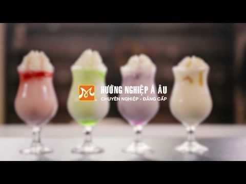 Cách Làm Yogurt Strawberry Thơm Ngon Béo Mịn | Hướng Nghiệp Á Âu