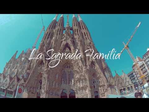 Inside La Sagrada Familia, Barcelona, 2017 - 4K Video