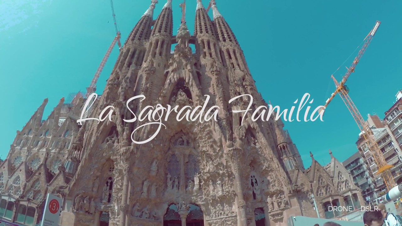 Inside La Sagrada Familia Barcelona 2017 4k Video Youtube