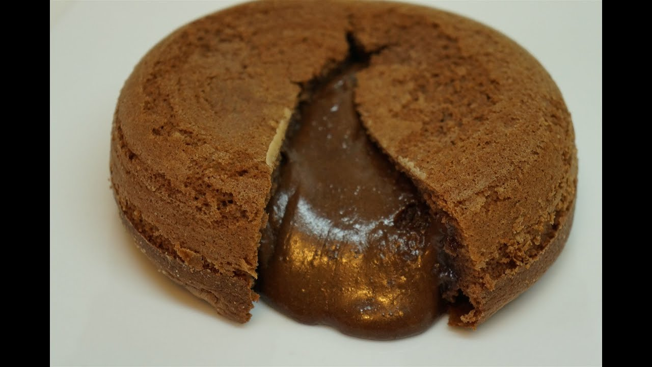 Petit gateau facil nutella
