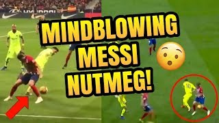 Messi outrageous Panna vs Atletico Madrid | Top 3s Episode 11