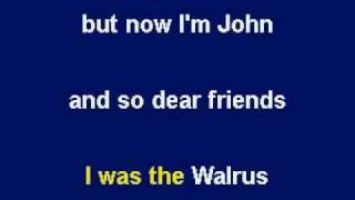 God by John Lennon - Karaoke by Allen Clewell