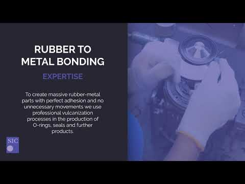 About the challenges of rubber to metal molding as a rubber manufacturer