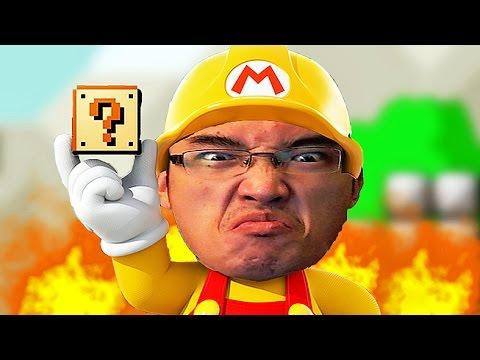 Super Mario Maker FR | COURS MON PETIT POLO!