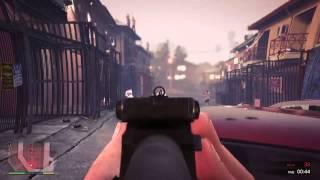 GTA V: Single Player - Rampage (Ballas) (1st Person)