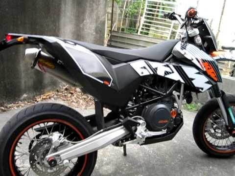 fmf factory 4 1 full system on ktm 690 smc youtube. Black Bedroom Furniture Sets. Home Design Ideas