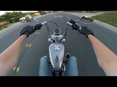 Harley Davidson Sportster 72 XL1200V TEST VIDEO