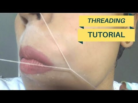 Threading: How to Thread Upper Lip Yourself (Become a Threading Expert)