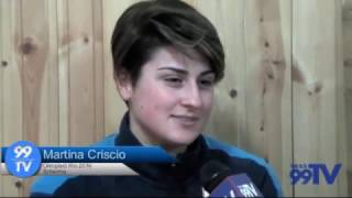 CLUB SCHERMA SAN SEVERO: SUL PODIO A NEW YORK LA CRISCIO