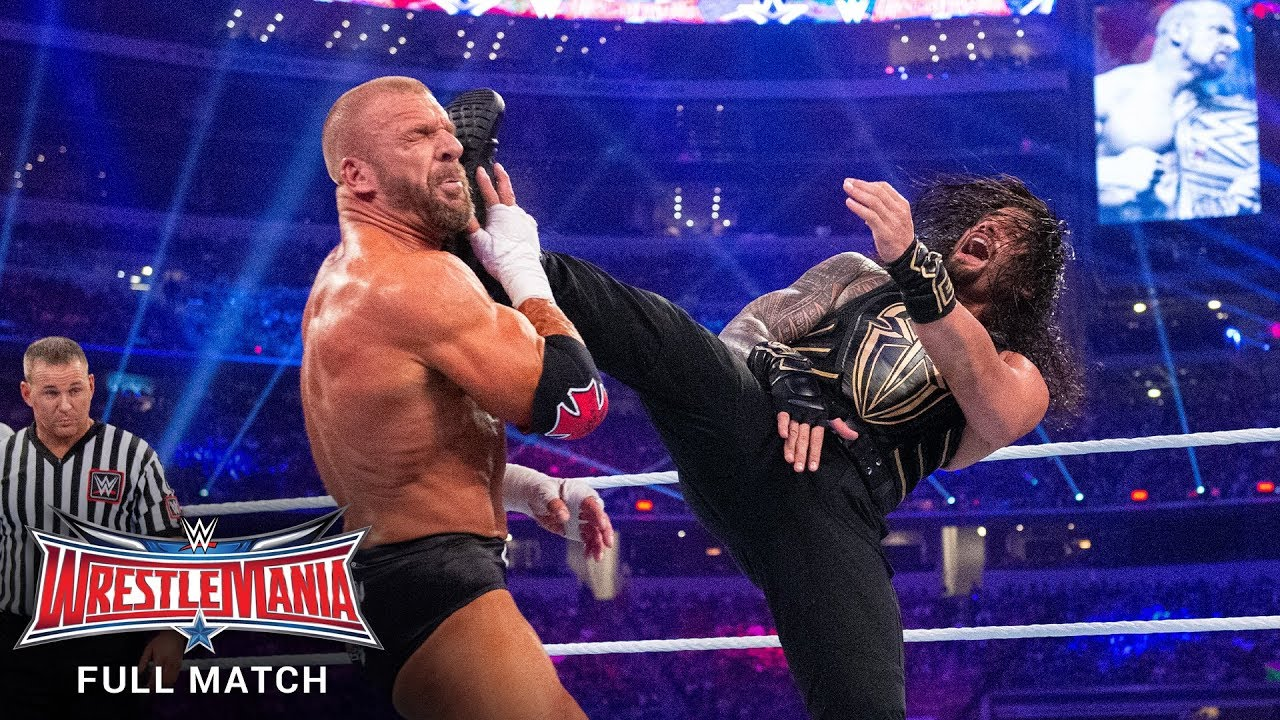 FULL MATCH - Triple H vs. Roman Reigns – WWE World Heavyweight Title Match: WrestleMania 32