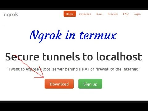 How to install ngrok in termux [ portforwording ]