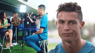 Репортер начал сравнивать Роналду с Салахом, его реакция удивила всех!