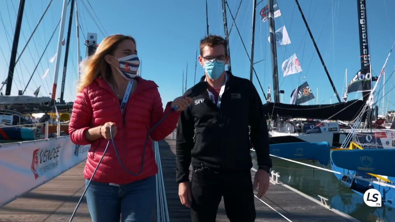 Les bateaux du Vendée Globe pour les nuls, visite guidée avec le skipper Xavier Macaire !