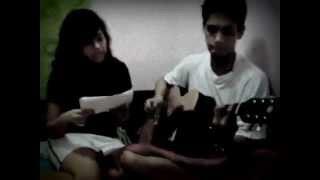 Pag-ibig na Kaya - Christian Bautista/Rachelle Anne Go COVER! -Mae :3 and Emak