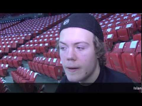 Pittsburgh Pengiuns prospect Daniel Sprong profile