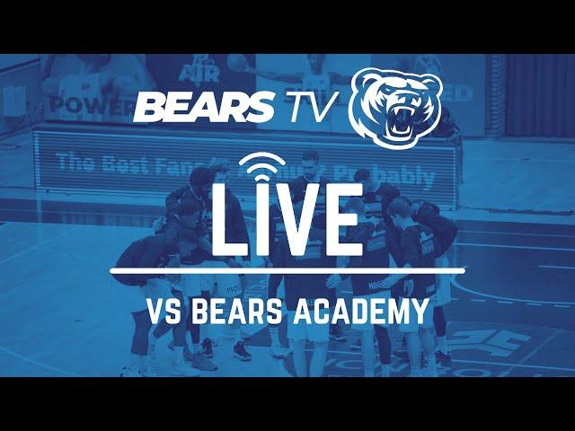 BEARS TV LIVE | Talentudvikling ep. 1 | vs Bears Academy