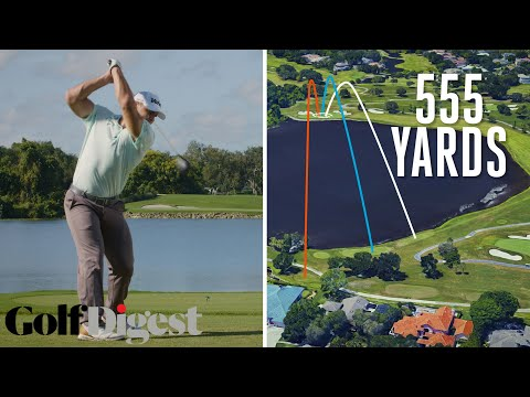Long Drive Champion Tries to Hit the Green on a 555-Yard Par 5 at Bay Hill | Golf Digest