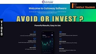 The Calloway Software Full Review - Avoid or Invest?