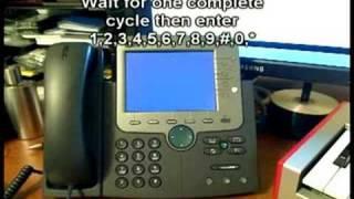 How to Hard Reset Cisco 7970