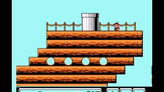 Super Mario Bros 3 - Airship Theme Song - User video