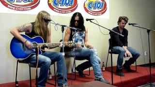 Art Of Dying - Sorry (Acoustic) C101 Studios LIVE Corpus Christi [HD] 11/2/11