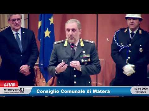 Consiglio Comunale di Matera 12 febbraio 2020Confe...