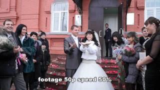 Первая съемка свадьбы на sony a77