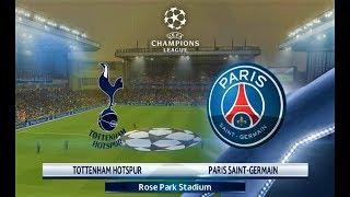 Tottenham vs PSG | UEFA Champions League 2018 | PES 2018 Gameplay HD