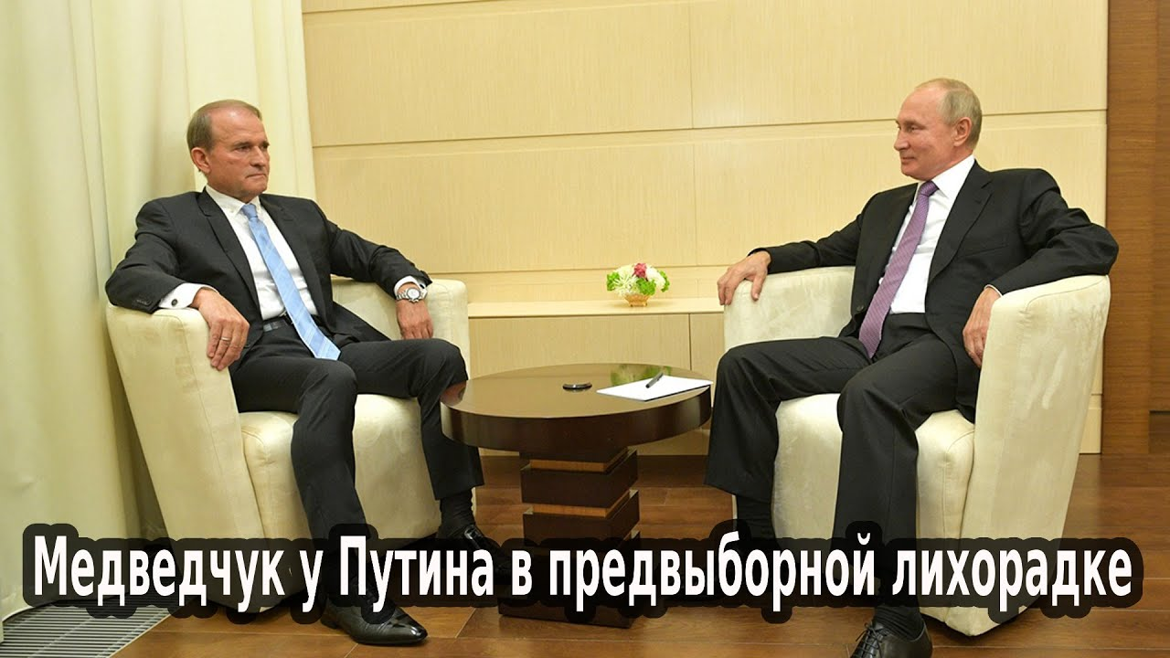 Медведчук у Путина в предвыборной лихорадке