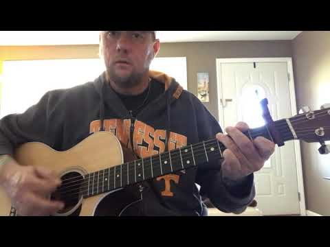 Good As You-Kane Brown (guitar lesson) (acoustic cover)