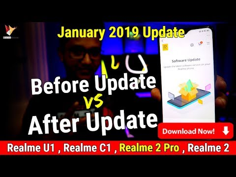 Realme 2 Pro Software Update January 2019 | Update for Realme U1, C1 & Realme 2 Also | DOWNLOAD NOW