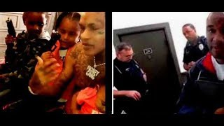 Snitch Call Police & Acs On Rapper Who Posted Kids Playing With Guns..DA PRODUCT DVD