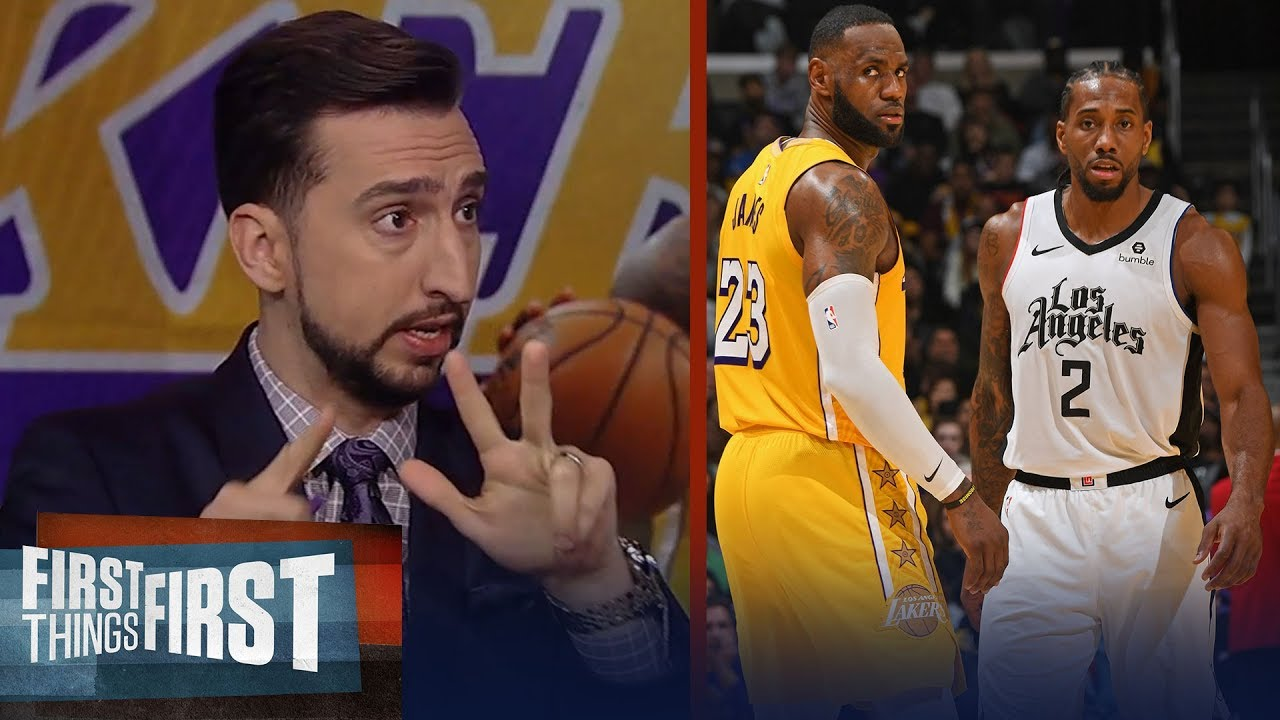 Nick Wright on Kawhi getting special treatment & LeBron's trade comments | NBA | FIRST THINGS FIRST